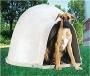 Pack caseta para cachorros gigantes inclui porta e almofada