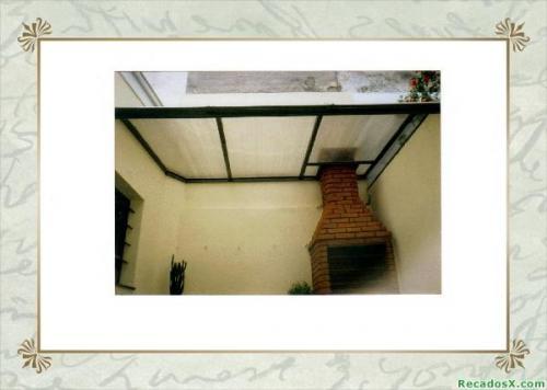 Fotos de Coberturas de policarbonato toldos,telhados,estrutura metalica ,alveolar,compact 2