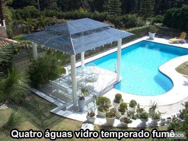 Fotos de Coberturas de policarbonato toldos,telhados,estrutura metalica ,alveolar,compact 4