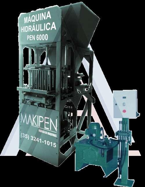 Maquina de fazer bloco