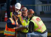 Estamos ansiosos para contratar trabalhadores da construção civil do engenheiro civil