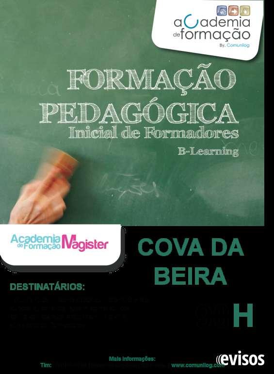 Formação pedagógica de formadores. b-learning (covilhã)