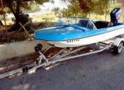barco + motor + atrelado