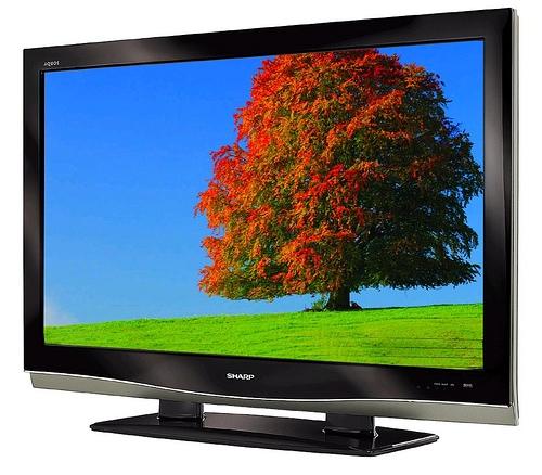 "Sharp aquos lc-46d62u tv 46"" lcd hdtv 1080p television"