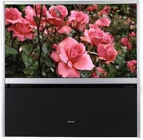 Toshiba 57h84 57 hdready rearprojection tv