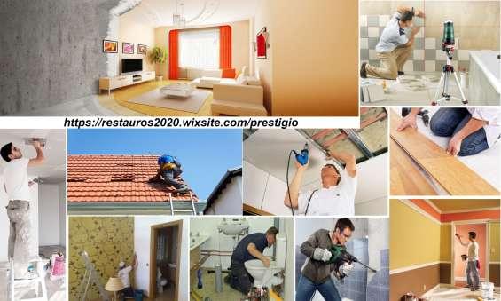 Remodelação de interiores.